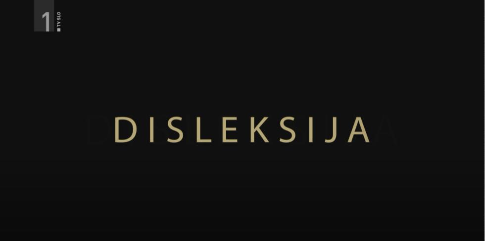 Izobraževalna oddaja o disleksiji – RTV Slovenija